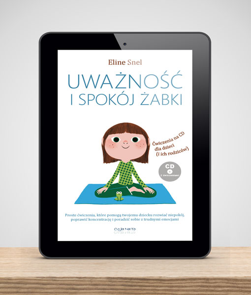 Cojanato, wydawnictwo, ebook, Uważność i spokój żabki