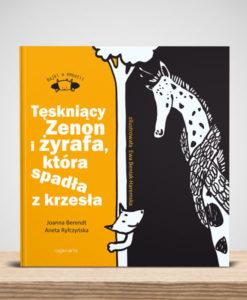 Cojanato, wydawnictwo, ksiazka, Tęskniący Zenon i żyrafa