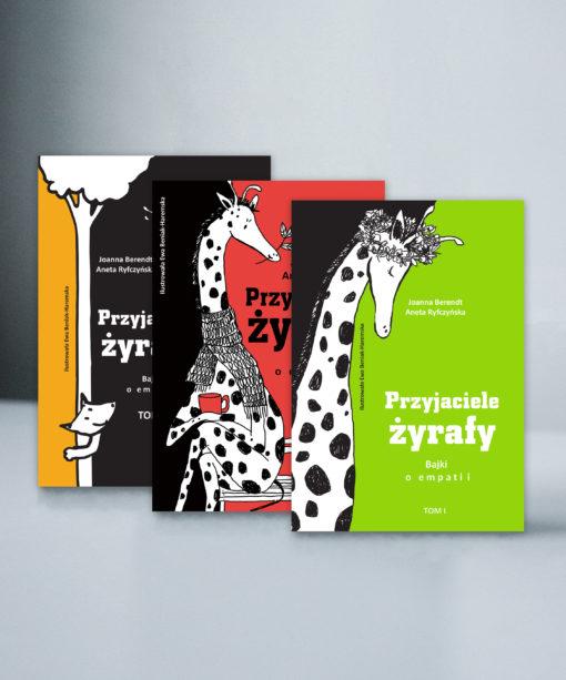 Pakiet trzech tomów bajek o empatii
