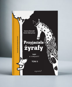 """okładka książki """"Przyjaciele żyrafy tom2"""""""